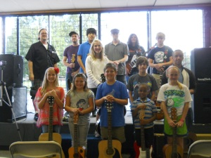 September 2012 Guitar Recital at Midwest Drum & Percussion! Robert White Guitar Instruction